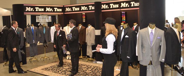 At the Bridal Festival: Mr. Tux