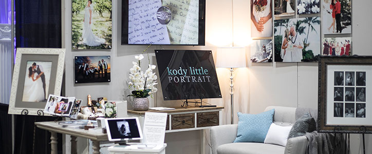 At the Bridal Festival: Kody Little Portrait