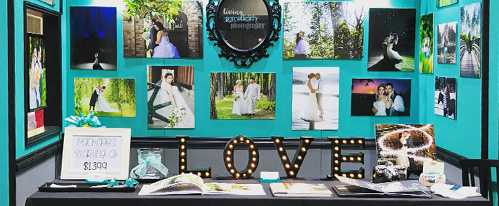 At the Bridal Festival: Living Serendipity Photography